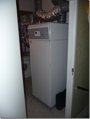 Bestaande warmtepompboiler